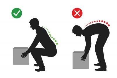 اقدامات احتیاطی بعد از جراحی دیسک کمر