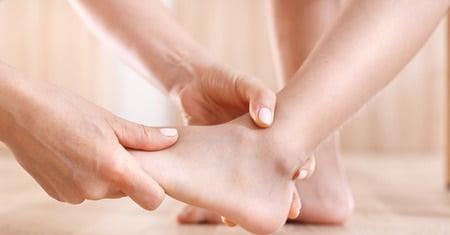 درد پا در کودکان