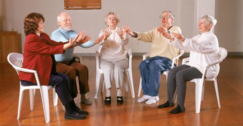 رقص در حالت نشسته
