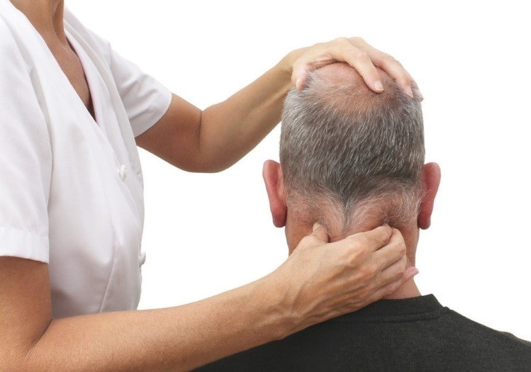 ماساژ برای گردن درد عصبی