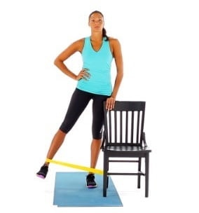 ورزش مقاومتی ربایش لگن برای دررفتگی لگن
